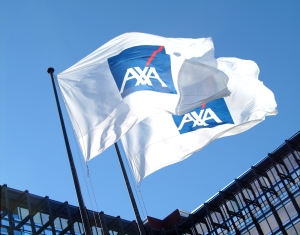 AXA flags