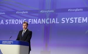 Valdis Dombrovskis EU EC Audiovisual Service François Walschaerts