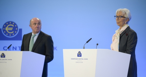 Christine Lagarde ECB Martin Lamberts ECB Flickr web