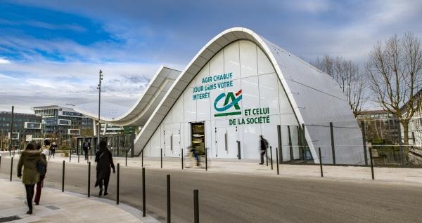 Credit Agricole - Evergreen pavillon web